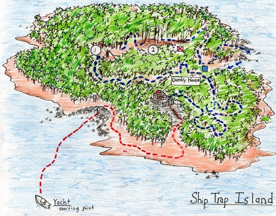 Ship Trap Island Map ~ AFP CV Ship Trap Island Map on the most dangerous game map, ship game map, ship treasure map,